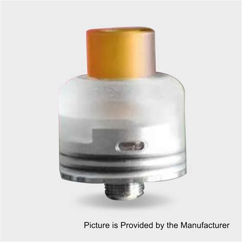 Gambit Style RDA Silver 316SS 22mm BF Rebuildable Dripping