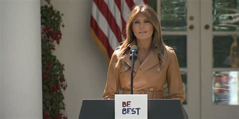 Melania Trump's BeBest Campaign Roll Out Has a Rocky Start